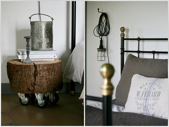 Slaapkamer landelijk brocante