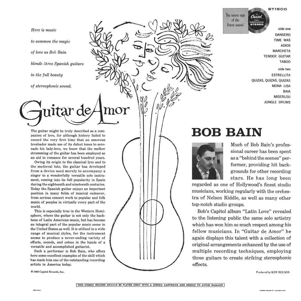 Bob Bain - Guitar de Amor
