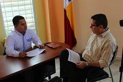 Alcalde de Chone designó nuevo director de Tránsito Municipal