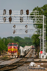 BNSF 568 | GE B40-8W | BNSF Thayer South Subdivision