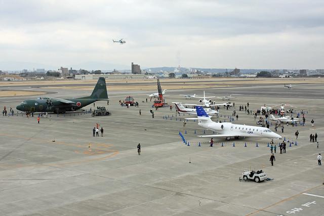 平成26年度 県営名古屋空港「空の日」「空の旬間」記念事業 屋外展示風景IMG_0976_2