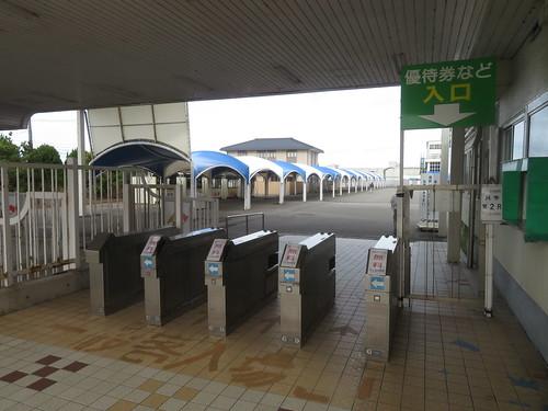 金沢競馬場の入場門