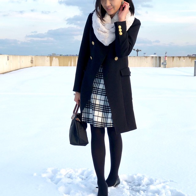 Styling A Plaid Skirt