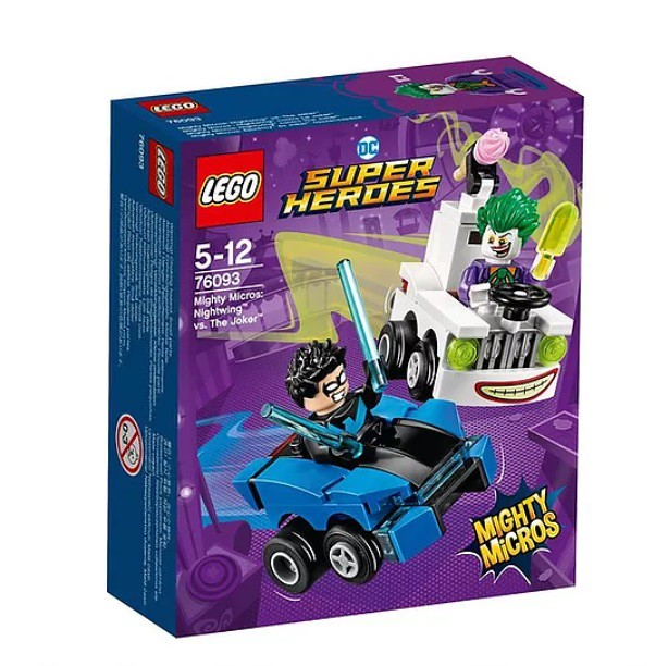 76093 Mighty Micros Nightwing vs. The Joker