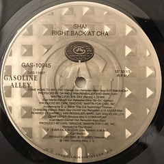 SHAI:RIGHT BACK AT CHA(LABEL SIDE-B)