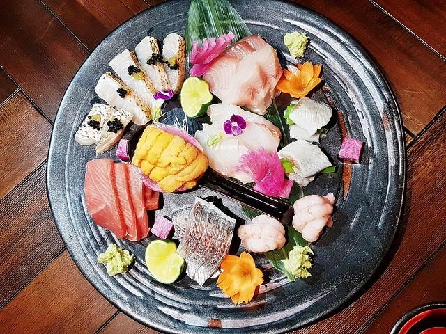Chef's Selection Of Sashimi