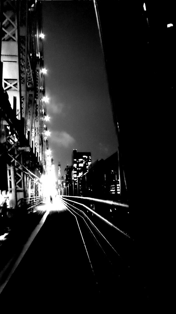 Queensboro Bridge B&W 5