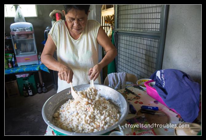 Macaroni salade maken