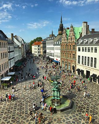 Vistas desde la tienda HAY en Copenhague