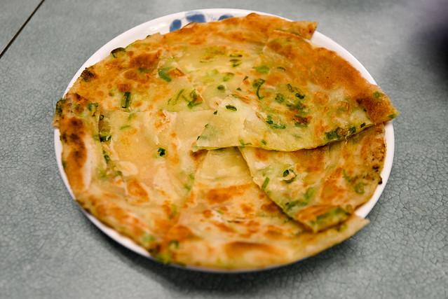 Lao Xi Noodle House- Arcadia, CA: Crispy Onion Pancake