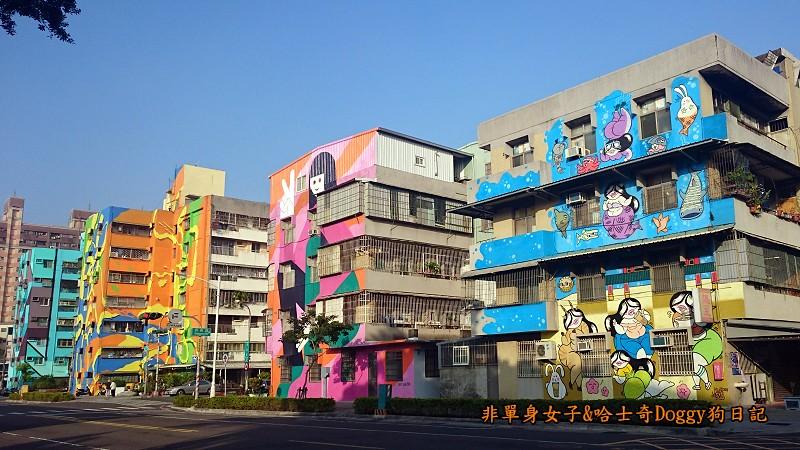 衛武社區大型藝術壁畫牆面彩繪08
