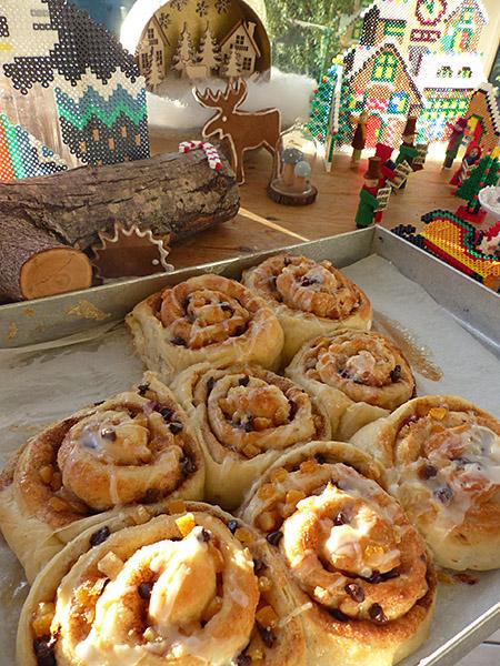 Christmas Chelsea buns