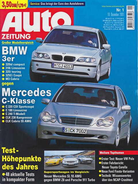 Auto Zeitung 1/2002
