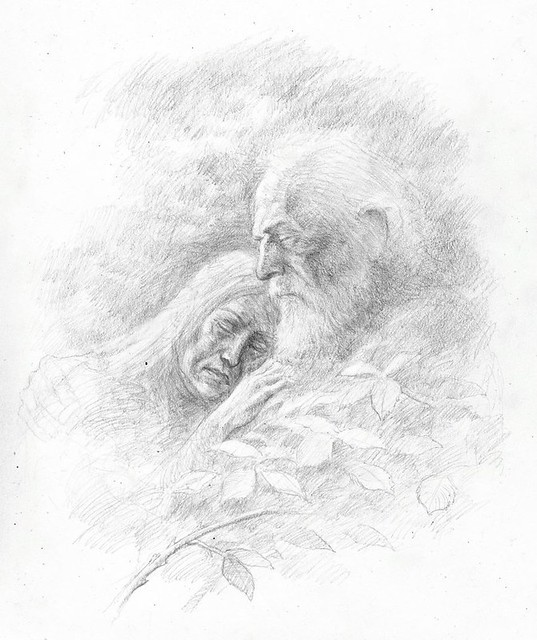 beren_and_luthien_by_turnermohan
