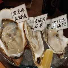 牡蠣も刺身も煮魚もすっごく美味しかった。宮城の酒も堪能した。何度か来ているけれど本当に美味しい。また来たい。 三陸天海のろばた@人形町
