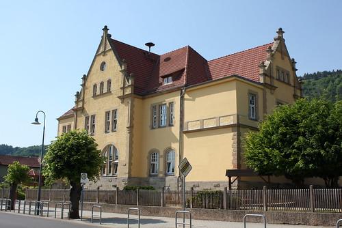 Amtsgerichtsgebäude, heute Grundschule