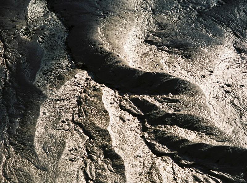 Avon mud - shapes along the Chocolate Path