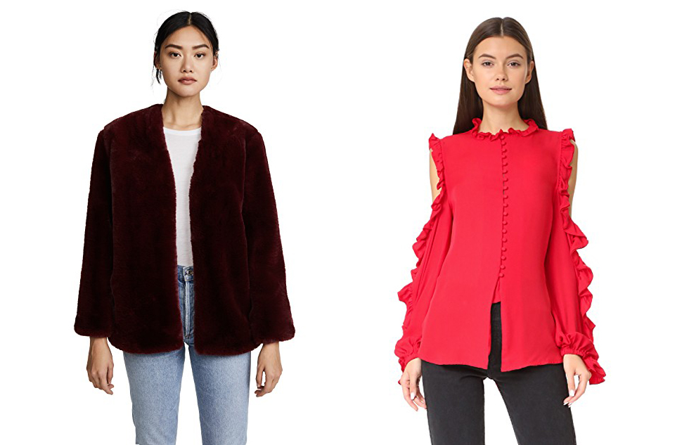 fashion-agony-recommends-favourite-items-to-shop-on-shopbop-under-two-hundered-faux-fur-coat-and-flared-shirt