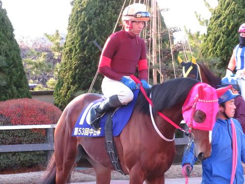 金沢競馬場の沖静男騎手