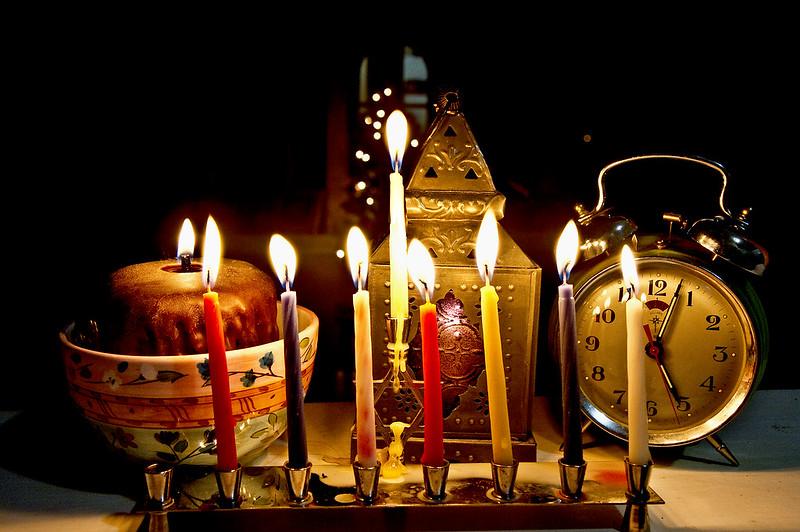 Hanukkah night seven