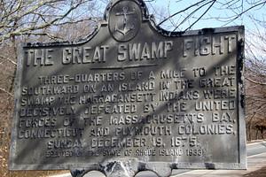 The Great Swamp Massacre Site