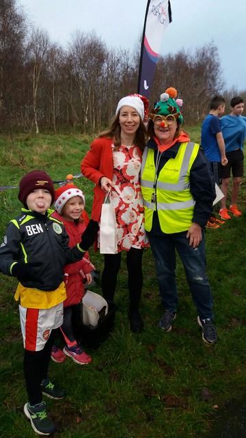 Mrs Santa and Elves