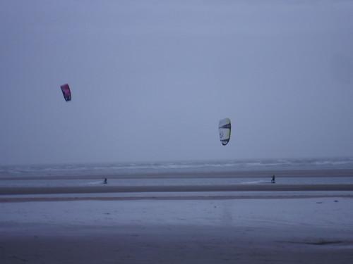 Kite Surfers, West Wittering Beach