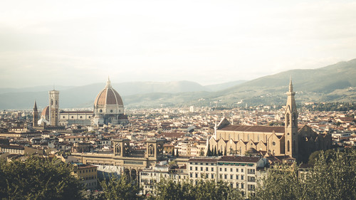 View above Firenze from Toni Hoffmann