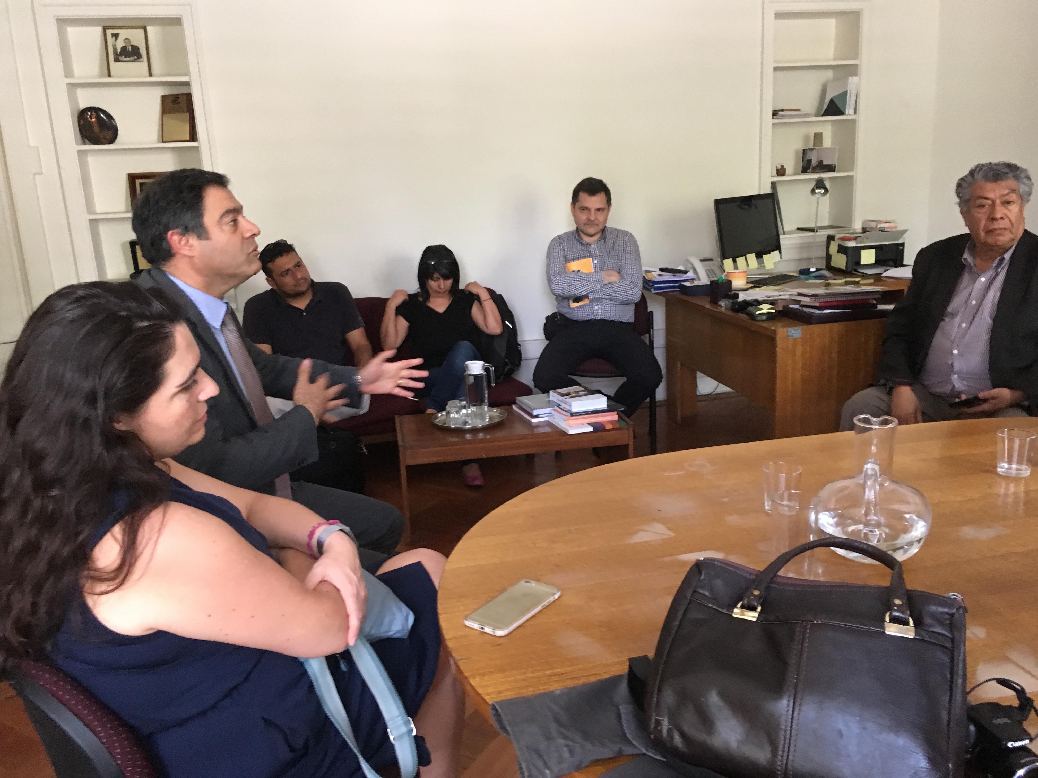 FTH se reúen con ANEF por procesos del personal a contrata - 11 Diciembre 2017