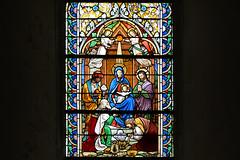 Quel est ce lieu ? L'adoration des mages, église Saint-Lô de Courcy, Manche - Photo of Guéhébert
