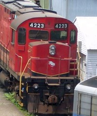 Morristown & Erie 4223 (1965 MLW C424)
