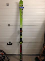 Závodní obřákové lyže Elan WC Race GSX 180 cm - titulní fotka