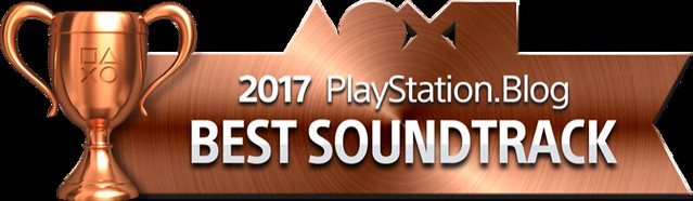PlayStation Blog Game of the Year 2017 - Best Soundtrack (Bronze)