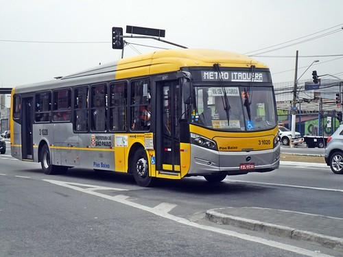 Viação Itaim Paulista Unidade Itaim 3 1020 CAIO Millennium BRT Mercedes-Benz O-500U BlueTec 5