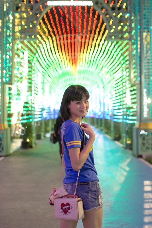 Chirstmas light in Nakhon Ratchasima