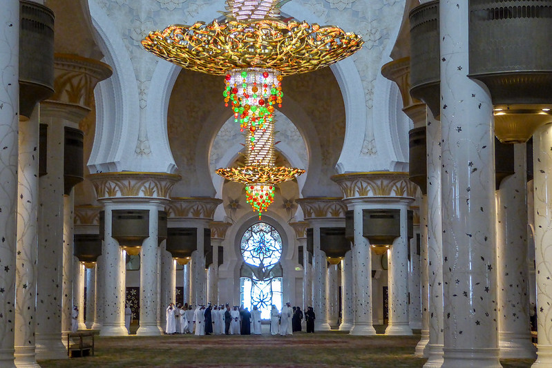 Grand Sheikh Zayed Mosque, Abu Dhabi