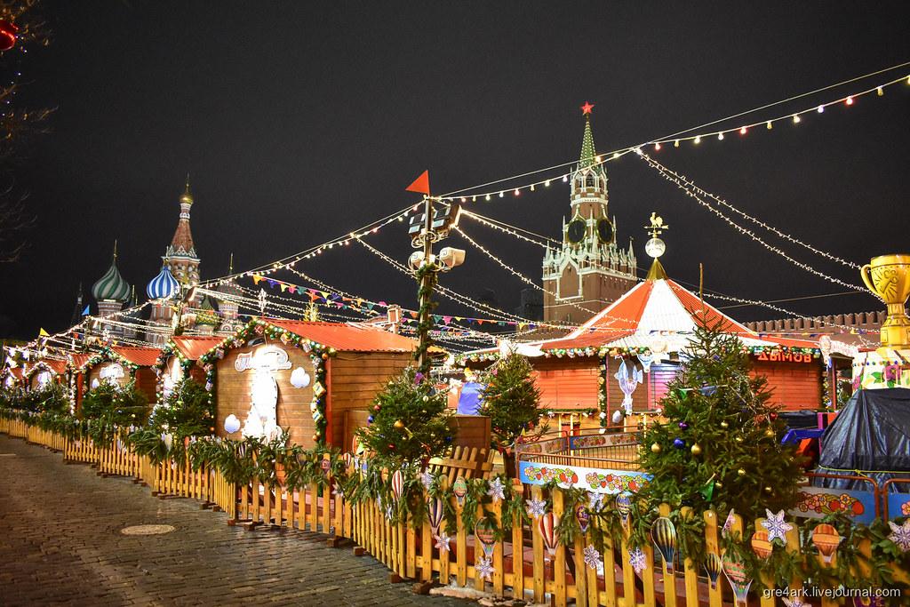 Прогулка по предновогодней Москве