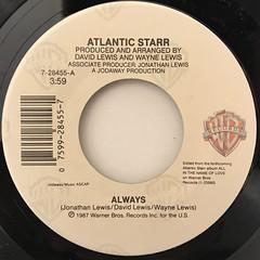 ATLANTIC STARR:ALWAYS(LABEL SIDE-A)