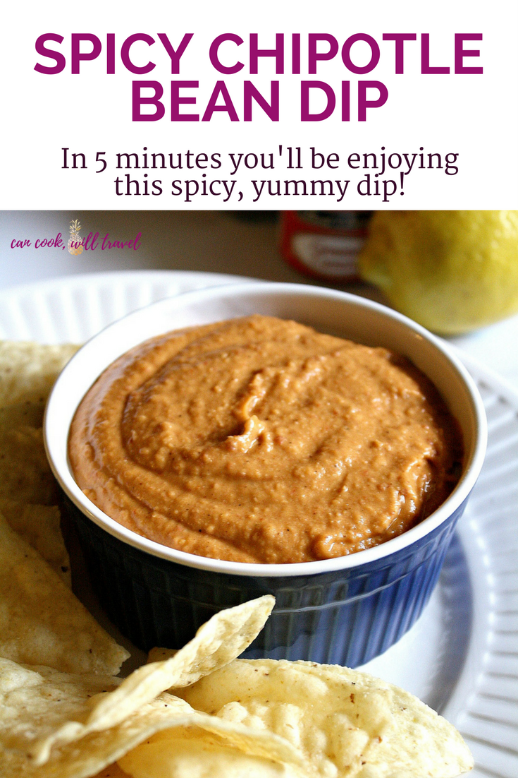 Spicy Chipotle White Bean Dip