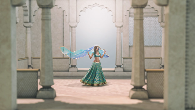 Ghoomar - Second Life Dance Cover