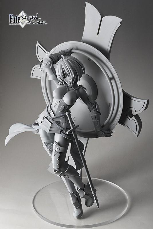 STRONGER《Fate/Grand Order》Shielder/瑪修・基利艾拉特(シールダー/マシュ・キリエライト)1/7比例模型 原型公開!