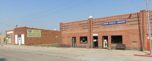 Downtown Lyman, Nebraska