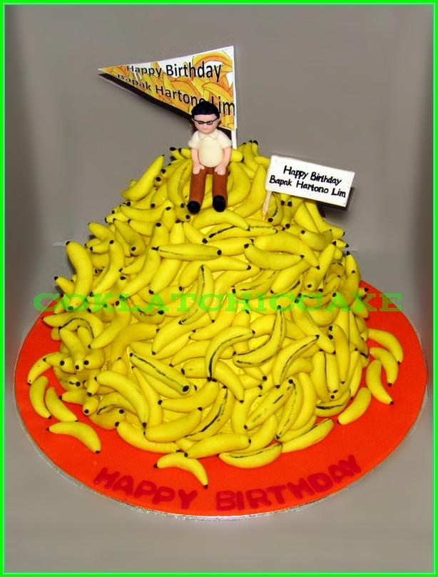 Cake pisang Bpk Hartono Liem 30cm