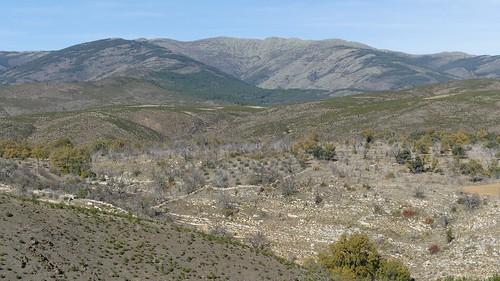 TORTUERO (Guadalajara). Spain. 2017. Sierra Norte. Panorámica desde el Collado Valhondo.
