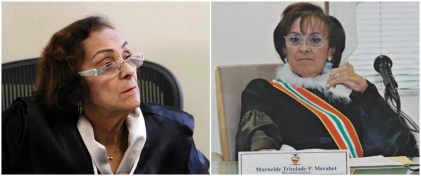 CNJ condena 2 desembargadoras do Pará com pena de aposentadoria compulsória, desembargadoras Marneide Merabet e Vera Araújo de Souza