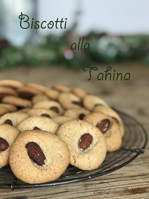 biscotti alla tahina
