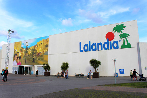 main building of Lalandia Billund