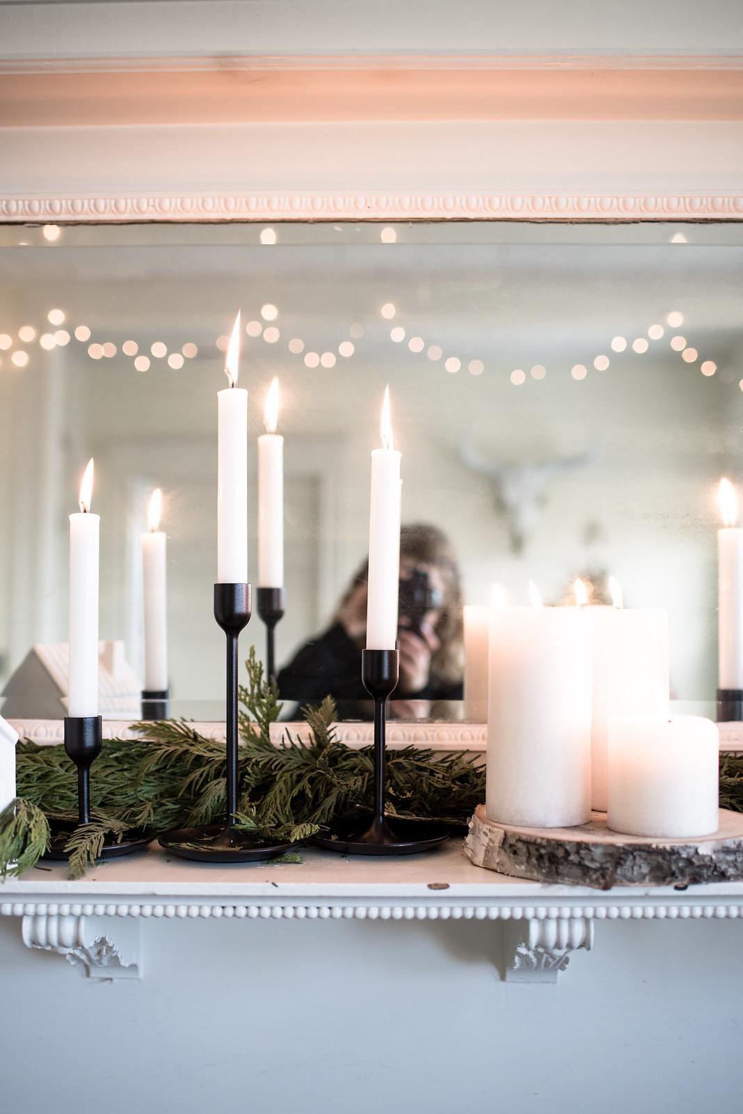 Christmas Candles on juliettelaura.blogspot.com