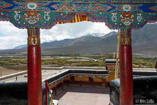 Paisaje desde el monasterio de Spituk