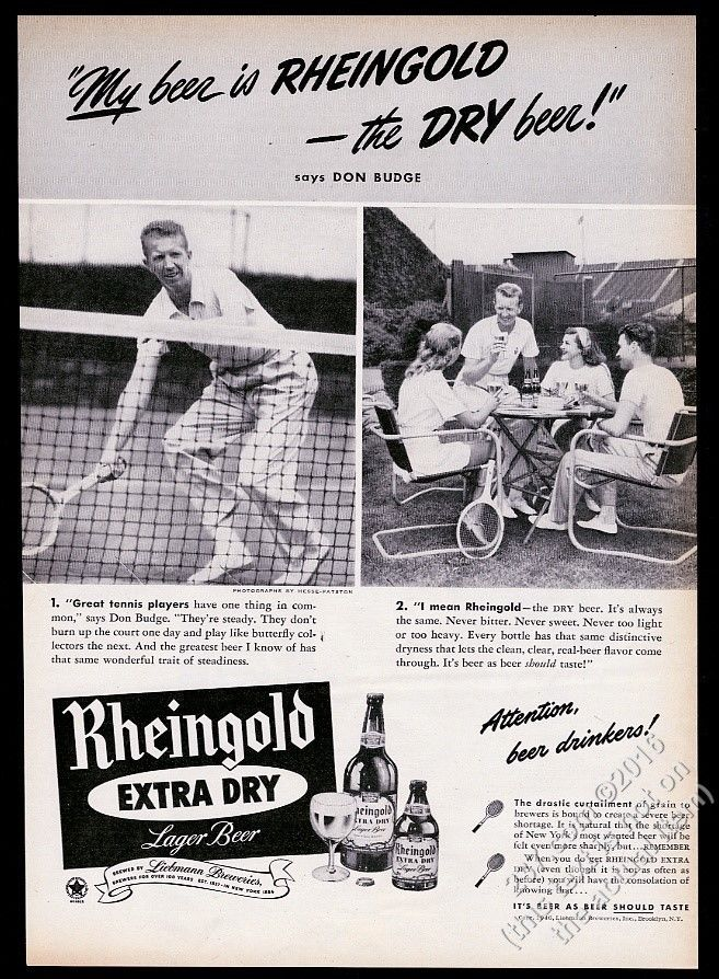 1946-Rheingold-Beer-Don-Budge-tennis